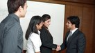 Group Interview Etiquette for Shaking Hands