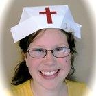 Cómo hacer una gorra de enfermera
