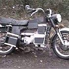 Partes de un motor de motocicleta
