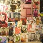 Como hacer arte de collage con recortes de revistas