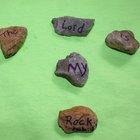 Manualidades para niños sobre David y Goliat
