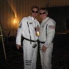 Disfraz casero de astronauta