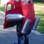 Cómo hacer un disfraz de Optimus Prime