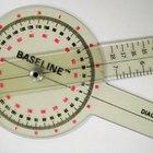 Cómo utilizar un goniómetro
