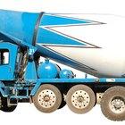 Cómo limpiar camiones de cemento