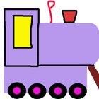 Manualidades de vagones de tren con cajas de cartón