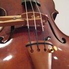 Cómo hacer una sordina para violín