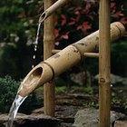 Cómo construir una fuente Shishi Odoshi