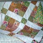 Cómo coser edredones para camas