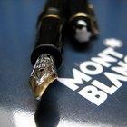 Cómo identificar un bolígrafo Montblanc Meisterstuck