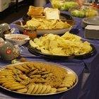Las 10 mejores comidas en fiestas de graduación