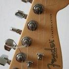 Cómo identificar una guitarra Fender Stratocaster hecha en México