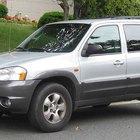 Mantenimiento de un Mazda Tribute