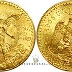 Cómo encontrar el valor de las monedas mexicanas de oro
