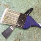 Cómo pintar una pared pintada con esmalte