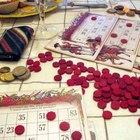 Cómo hacer tarjetas de bingo con palabras en línea