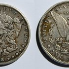 Cómo identificar una moneda de un dólar Morgan de 1890