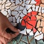 Cómo convertir cerámicas rotas en arte