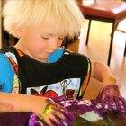 Cómo hacer pintura para dedos con maicena