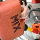 Cómo limpiar un pequeño derrame de gasolina
