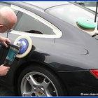 Cómo pulir un auto recién pintado
