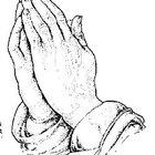Cómo dibujar manos rezando