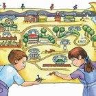 Cómo hacer un mapa para niños