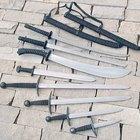 Cómo hacer espadas de acero