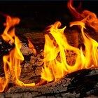 Qué tipo de energía se utiliza en la quema de la madera