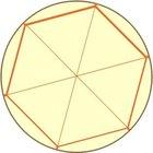 Cómo calcular el área de un hexágono