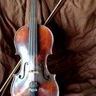 ¿De qué está hecho un violín?