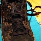 Como hacer estrellas con cordones de zapatos