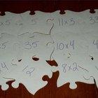 Cómo hacer un rompecabezas matemático