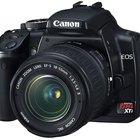 Cómo arreglar una cámara Canon EOS Rebel XTi