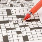 Cómo crear crucigramas para niños