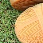Cómo pintar suelas de goma