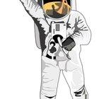 Cómo crear un casco de astronauta de papel