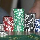 Cómo hacer fichas de poker fácilmente