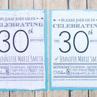 How To Make Printed Fabric Invitations