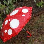 Willy Wonka-Inspired Mushroom Umbrella