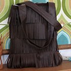 Make Your Own Leather Fringe Bag