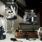 DIY Halloween Mason Jar Globes