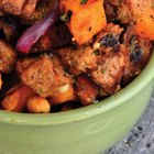 Cinnamon Raisin Sweet Potato Salad