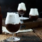 Chocolate Stout Pudding with Beer Whipped Cream