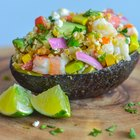 Shrimp and Avocado Freekeh Salad