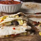 Roasted Squash and Portobello Mushroom Quesadillas