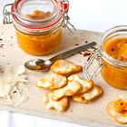 English Peach and Ginger Chutney
