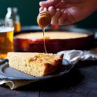 Honey Beer Skillet Cornbread