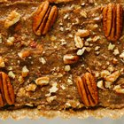 Healthier No-Bake Pecan Pie