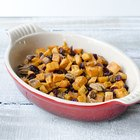 Roasted Sweet Potatoes with Cranberries and Pecans